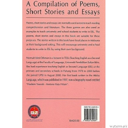 A COMPILATION OF POEMS, SHORT STORIES, AND ESSAYS