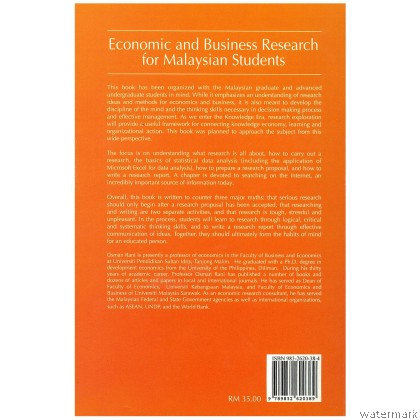 ECONOMIC AND BUSINESS RESEARCH FOR MALAYSIAN STUDENT