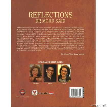 REFLECTIONS: DR MOHD SAID